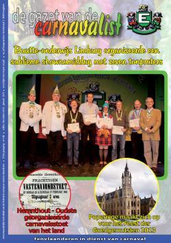 Gazet van de Carnavalist - december 2012