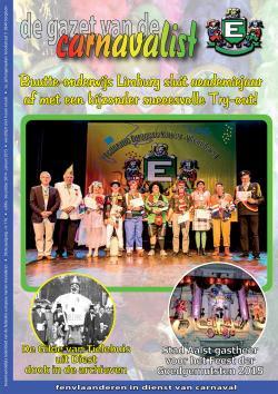 Gazet van de Carnavalist - december 2014