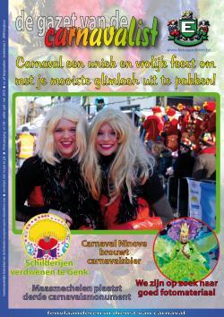 Gazet van de Carnavalist - april 2010