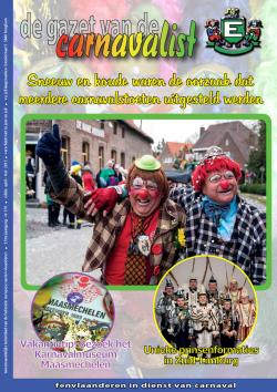Gazet van de Carnavalist - april 2013