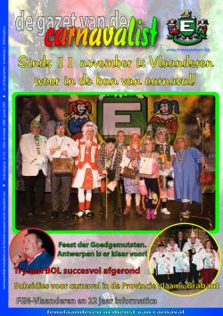 Gazet van de Carnavalist - december 2008