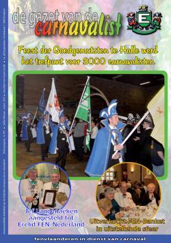 Gazet van de Carnavalist - februari 2012