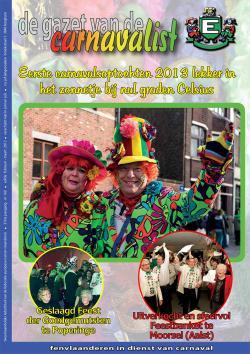 Gazet van de Carnavalist - februari 2013