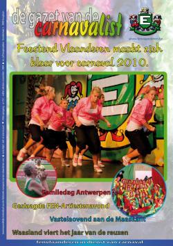 Gazet van de Carnavalist - oktober 2009