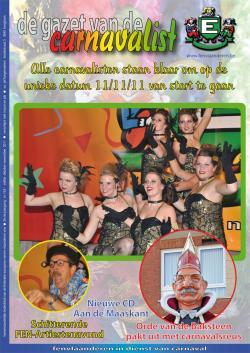 Gazet van de Carnavalist - oktober 2011