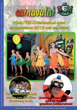 Gazet van de Carnavalist - oktober 2012