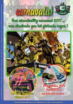 Gazet van de Carnavalist - april 2017