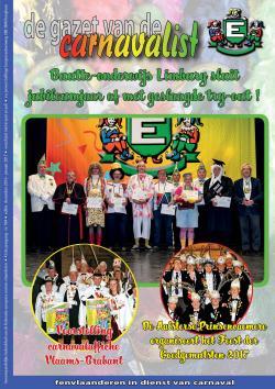 Gazet van de Carnavalist - december 2016