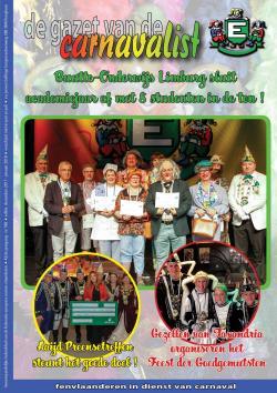Gazet van de Carnavalist - december 2017