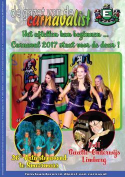 Gazet van de Carnavalist - oktober 2016