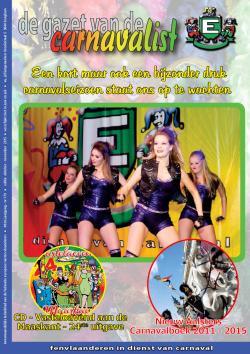 Gazet van de Carnavalist - oktober 2015